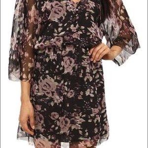LAmade boho dolman floral dress